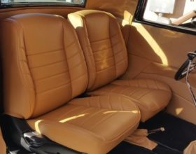 ford coupe custom seat