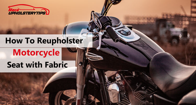 motorcycle seat upholstery